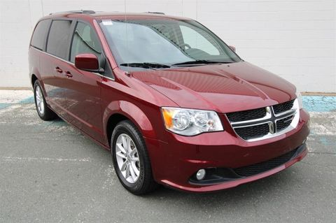 Pre-Owned 2018 Dodge Grand Caravan Crew Front Wheel Drive Minivan