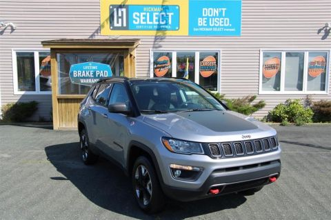 Pre-Owned 2018 Jeep Compass 4x4 Trailhawk Four Wheel Drive SUV
