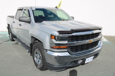 Certified Pre-Owned 2017 Chevrolet Silverado 1500 Crew 4x4 LS / Short Box Pick up