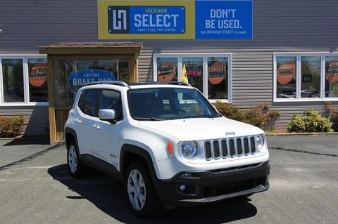 Pre-Owned 2018 Jeep Renegade 4x4 Limited Four Wheel Drive SUV